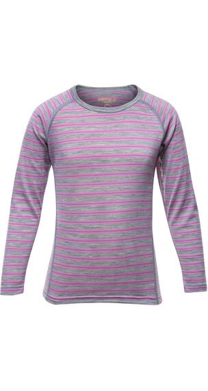 Devold Kids Breeze Shirt Peonystripes